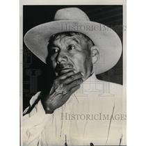 1940 Press Photo Chief Estahakee or George Jones re-elected for the third term