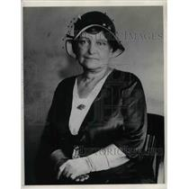 1932 Press Photo Mrs. Minnie Long Sloan - nea19440