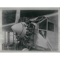 1928 Press Photo Wright Motor with flat muffler