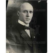 1921 Press Photo Charles Erbstein, Chief defense atty