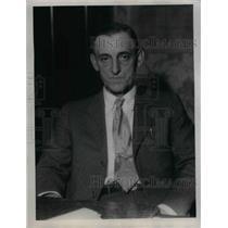 1922 Press Photo Harry O Hill Sheriff Geauga County - nea33138