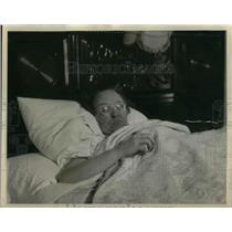 1931 Press Photo Mrs H W Howard of Portland Oregon