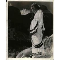 "1940 Press Photo Grant H. Redford as Christ ""Sermon on the Mount"""