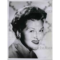 1960 Press Photo Actress Jo Stafford on CBS