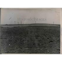1936 Press Photo Drought Affects Crops in North Dakota