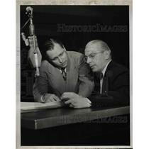 "1950 Press Photo John Dietz & Harry Marble in ""Up For Parole"""