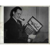 1944 Press Photo Donald Wheeler of Boeing Aircraft Company
