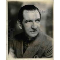 """1932 Press Photo Actor Guy Bates In """"Great Moments In History"""""""