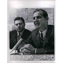 1964 Press Photo Sammy Baugh Announced Quit As Head Coach Houston Oilers