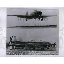 1955 Press Photo Messerschmidt Saeta Test Flight In Spain