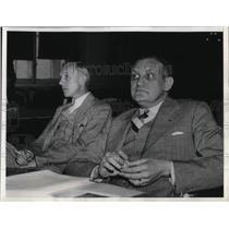 1938 Press Photo Edgar Herzog & Lester Arele Contend Communist Party - nea36585