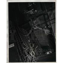 1931 Press Photo Electric Crane at Westinghouse - nea34838