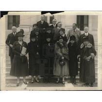 1926 Press Photo Board of Red Cross,Boardman,Davidson,Baldwin,Hammar,Scott,