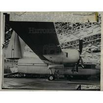 1947 Press Photo New cargo plane built by Curtiss-Wright Corp