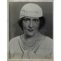 1922 Press Photo Gertrude Malone Of The Junior Guild Of John Carol University