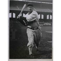 1935 Press Photo Vernon George Washington Chicago White Sox