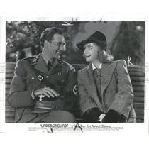 1941 Press Photo Actor Jeffrey Lynn & Actress Kaaren Verne - RSH10199