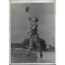 1938 Press Photo Elburt Fletcher at Training Camp, Bradentown, Florida