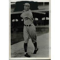1931 Press Photo George Haas of the Philadelphia Athletics