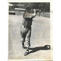 1935 Press Photo Joseph Coscarart Infielder Boston Braves