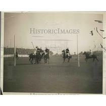 1924 Press Photo International Polo Game