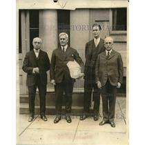 1927 Press Photo Committee About Petition Against Romanian Government