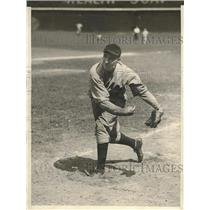 1929 Press Photo Granys, pitcher for Chicago Cubs