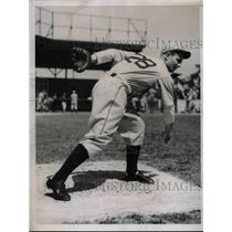 1936 Press Photo Joseph Hare of the Detroit Tigers