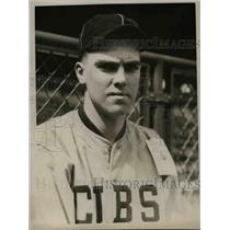 1926 Press Photo Ernie Holman Cubs