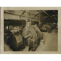 1929 Press Photo Air Compressor Used By Patrick McGovern Inc. in Subway