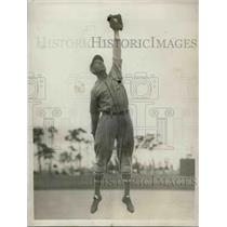 1929 Press Photo Joe Hassler, Philadelphia Athletics Infielder - nea43977