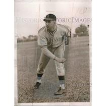 1937 Press Photo Buck Lewson Veteran trainer Washington Senators