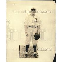 1921 Press Photo Johnny Walker of the Philadelphia Athletics