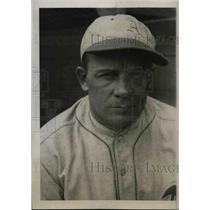 1931 Press Photo Jimmy Dykes Third Baseman Philadelphia Athletics Training Camp