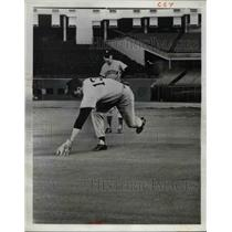 1966 Press Photo Dick Farrell Houston Astros Bob Lillis
