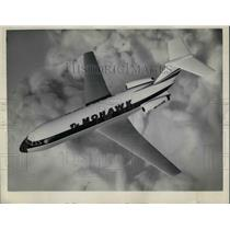 1963 Press Photo Mohawk Al British American Plane