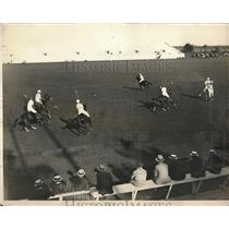 1924 Press Photo Players Trying Out for American Polo Team for International