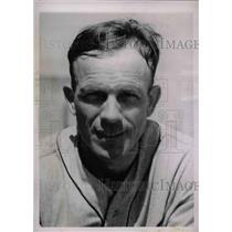 1936 Press Photo Ray Hayworth Catcher Detroit Tigers Spring Training Camp MLB
