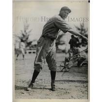 1929 Press Photo Art Delaney Rookie Pitcher Boston Braves