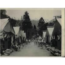 1926 Press Photo Convict Labor at Road Camp