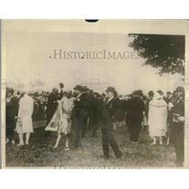 1925 Press Photo Archduke Franz Salvator Attends Austrian Derby - nex00618