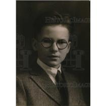 1920 Press Photo 13-Year-Old Harvard Student Fred Santee