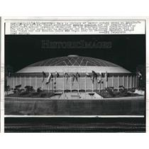 1961 Press Photo Houston's New Dome Stadium