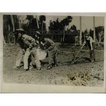 1927 Press Photo Dorothy Blyden, Dorothy Martin, F. Schegelmich, L. MacClanahan