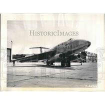 1949 Press Photo U. S. Air Force's Martin XB-51 high-speed ground-support ship