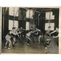 1926 Press Photo National Farm School Intersectional Basketball Program Game