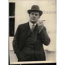 1923 Press Photo Lyn Harding, English actor in Mauretania - nea50914