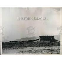 1935 Press Photo Ethiopian fortifications at Adigrat fell to Italian forces