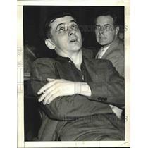 1933 Press Photo Joseph Vamos, undercover man for Republic Steel Corp.