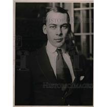 1918 Press Photo Mr Edwin von Walden - nea51148